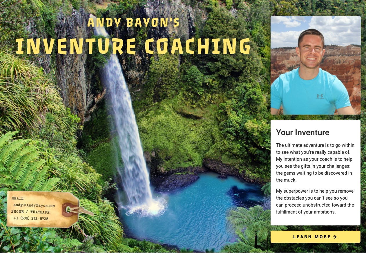 Inventure Coaching Website
